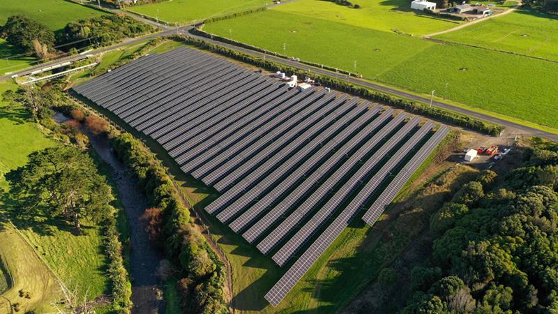 Kapuni Solar Farm - Source: Sunergise