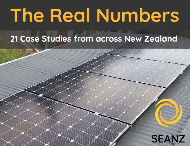 The Real Numbers: A Detailed Look at Residential Solar PV Return On Investment, Payback, and Overall Value to Consumers 21 Case Studies from across New Zealand