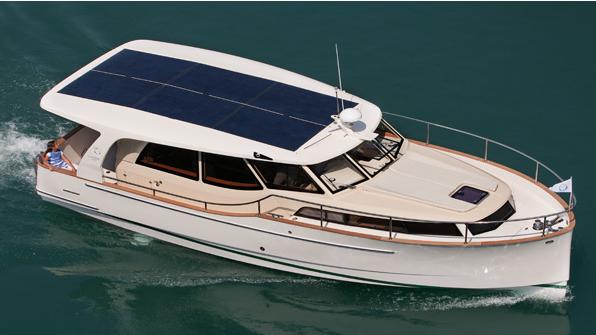 Greenline 40 Solar Powered Boat