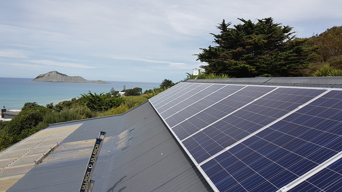 McDougall's solar power system in the hawkes bay