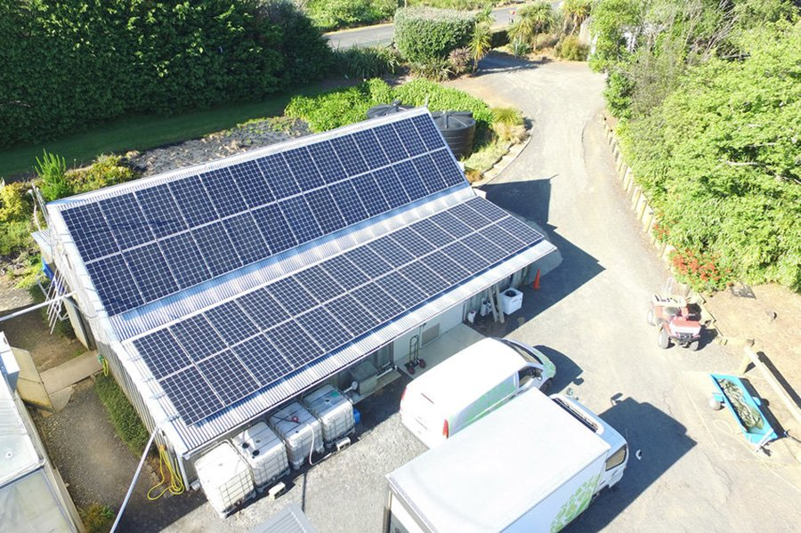 Scarborough Fare Herbs Solar Panel System NZ