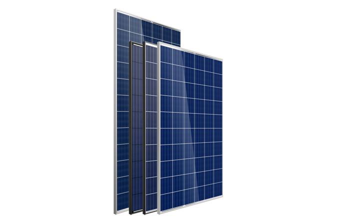solar panels black frame vs aluminium frame