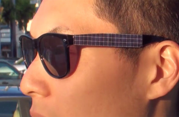Solar Powered Ray Bans