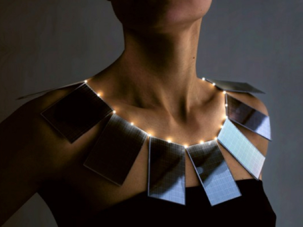 Solar Powered Necklace