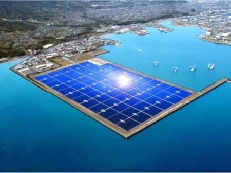 Solar On The Sea - Largest Floating Solar Power Plant