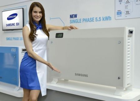 Samsung Unveils New Home Energy Storage Systems