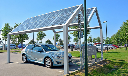 The Number Of Solar Panels You Need To Charge An Electric Vehicle (EV)