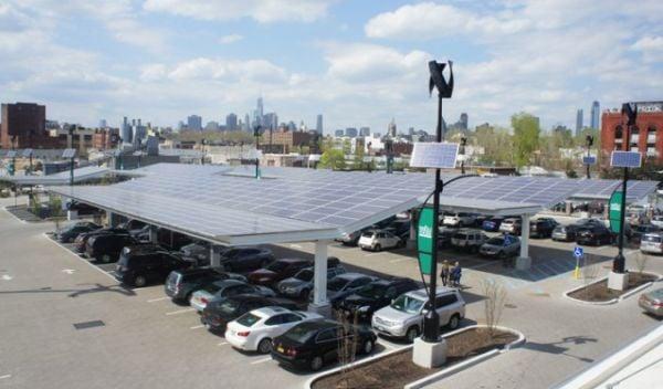 Whole Foods Solar Powered Car Park